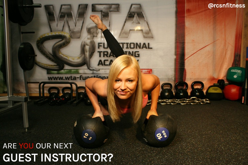 Are you our next GUEST INSTRUCTOR?