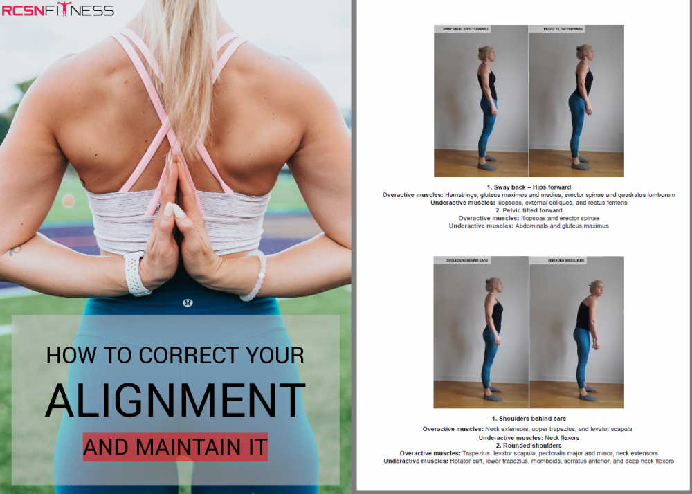 How to correct your alignment - and maintain it