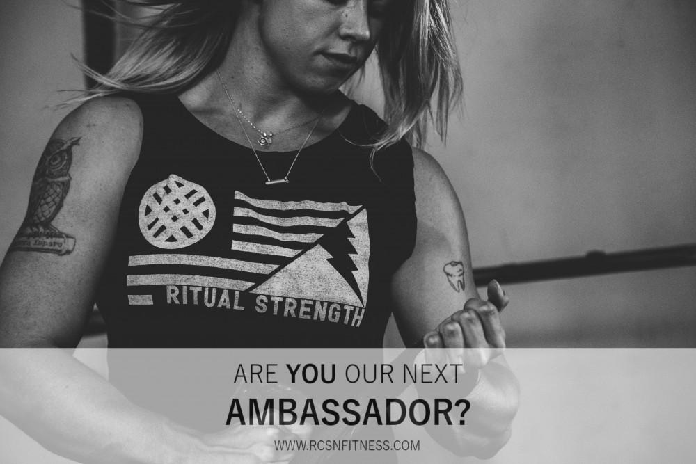 Are you our next ambassador?