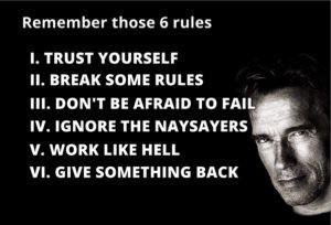 Den sjätte regeln