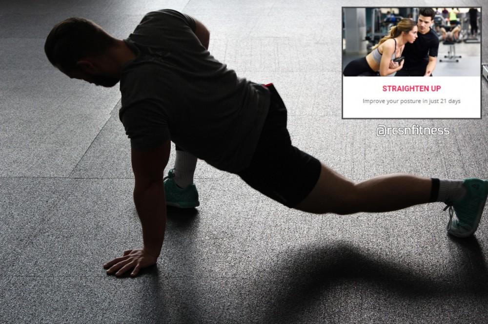 Straighten up Fitness Challenge