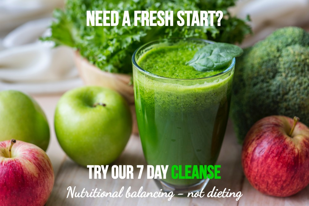 Start out your 2019 with a clean break - 7 Day Cleanse Challenge