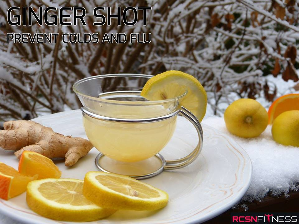 Ginger shot - Keep the cold away!