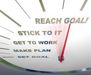 Målsättningar och mål, hur skall man uppnå sitt nyårslöfte?