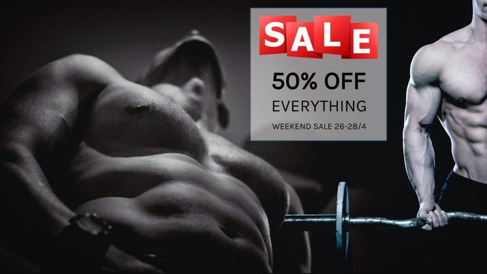 WEEKEND SALE - 50% OFF