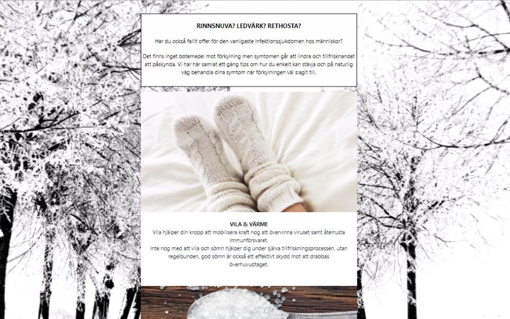 NYHETSBREV Hur hanterar vi på bästa sätt en förkylning?