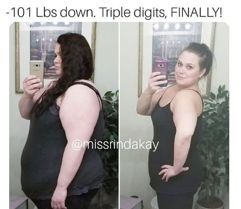 One of our amazing weight loss stories!